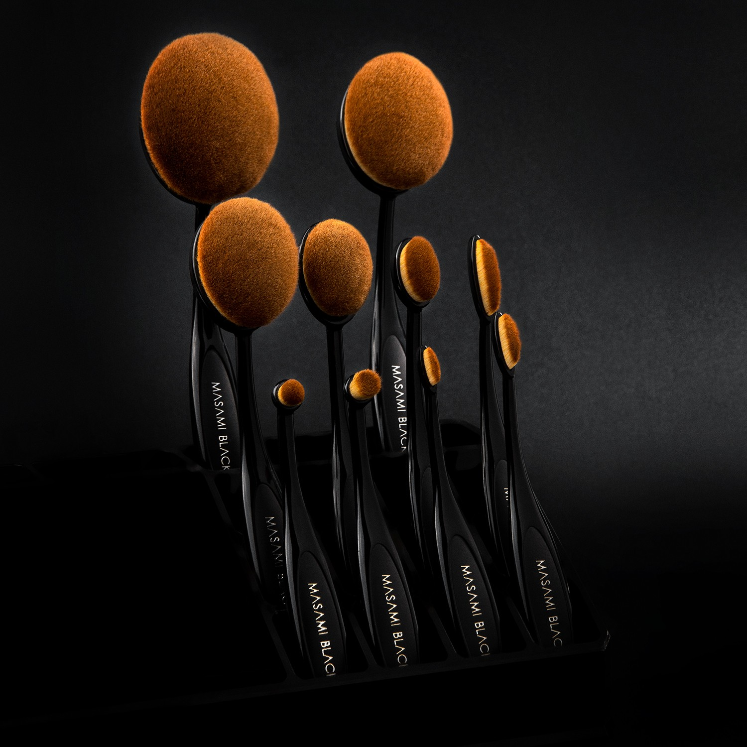 Masami Black The Artist Brush 10 Pieces